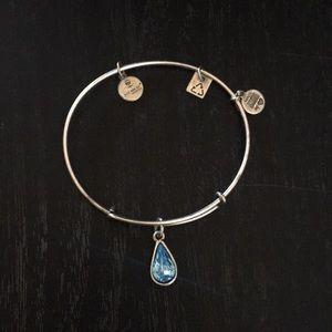 Alex and Ani March birthstone bracelet